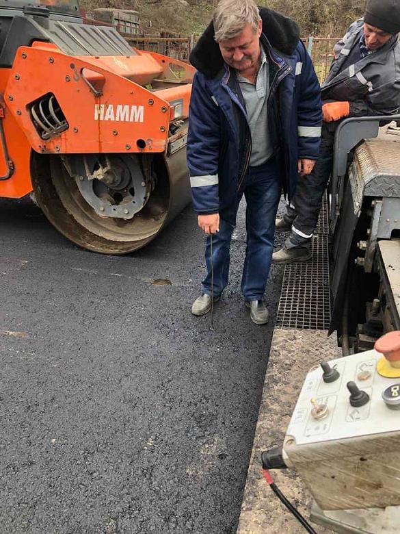 У Черкаській області продовжують ремонт автомобільних доріг