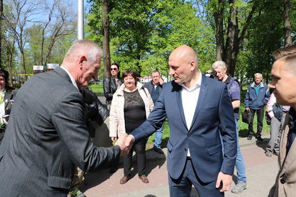Ветерани Чорнобиля підтримують Бондаренка