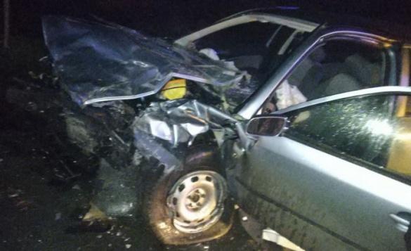 Лобове зіткнення: у ДТП на Черкащині постраждали четверо людей