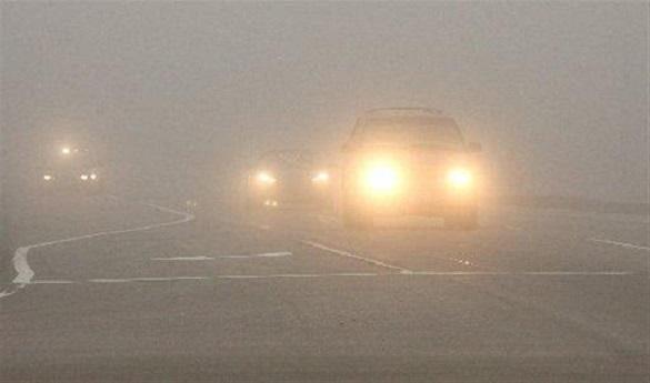 Погана видимість: на Черкащині прогнозують туман