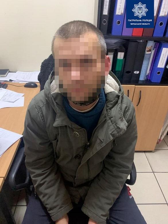 Накрав на понад 900 гривень: київського грабіжника затримали в Черкасах