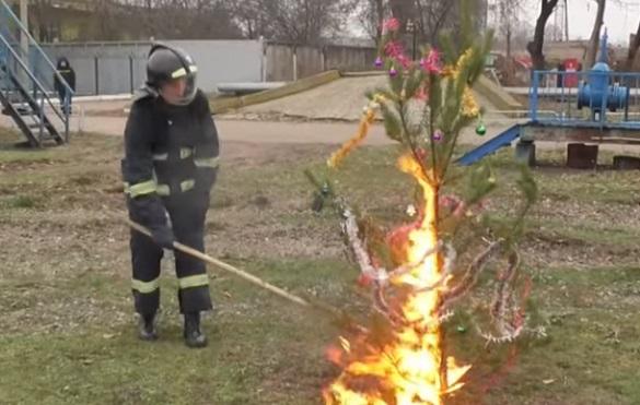 Черкаські рятувальники розповіли, як уникнути пожежі на свята (ВІДЕО)