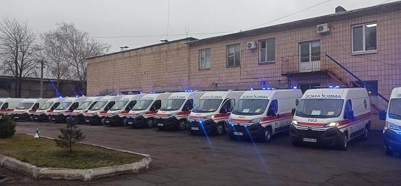 Медики екстреної медичної допомоги Черкащини отримали понад 20 нових автомобілів (ФОТО)