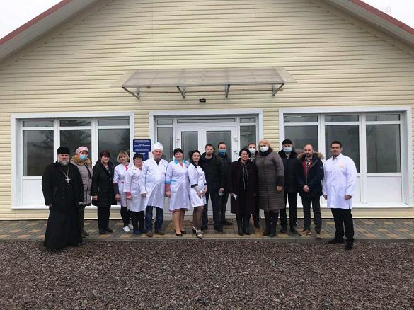 На Черкащинівідкрили дві нові сучасні амбулаторії сімейної медицини