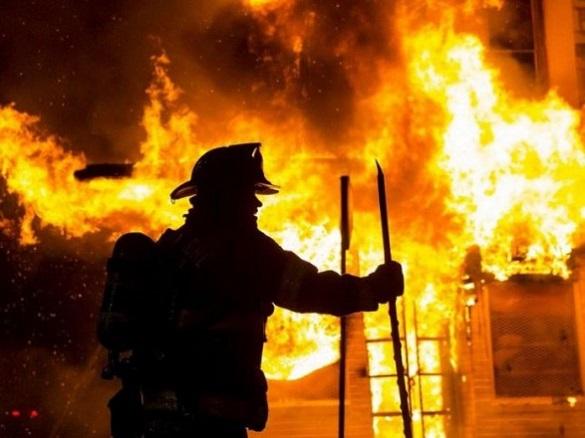 Пожежа на Черкащині: постраждала господарка будинку