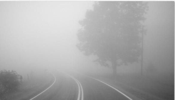 Черкаси в тумані: до кінця доби прогнозують погану видимість