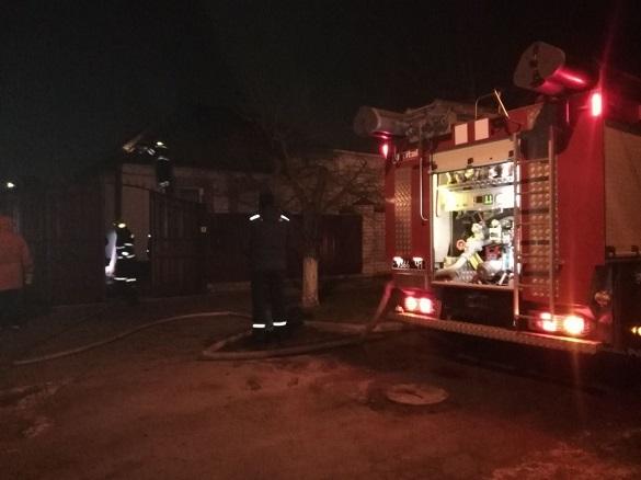 Через несправність газового обладнання в Черкасах сталася пожежа