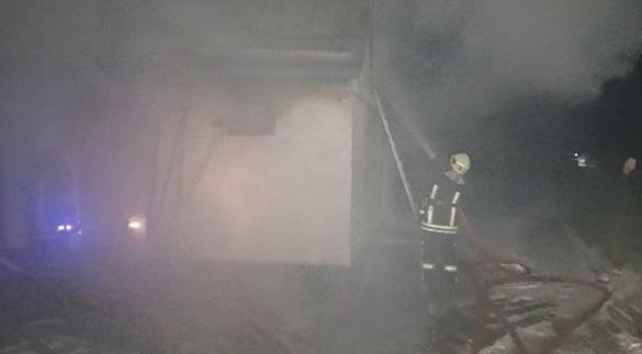 Через пічне опалення на Черкащині сталася пожежа (ВІДЕО)