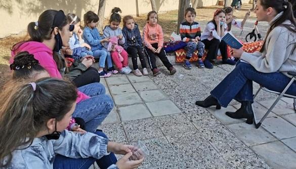 В Йорданії за участі черкащанки провели День казки, присвячений творчості Василя Симоненка (ВІДЕО)