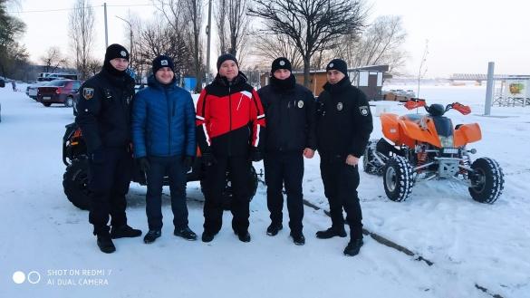 Cтали відомі імена небайдужих, що врятували двоє дітей, які провалилися під лід у Черкасах