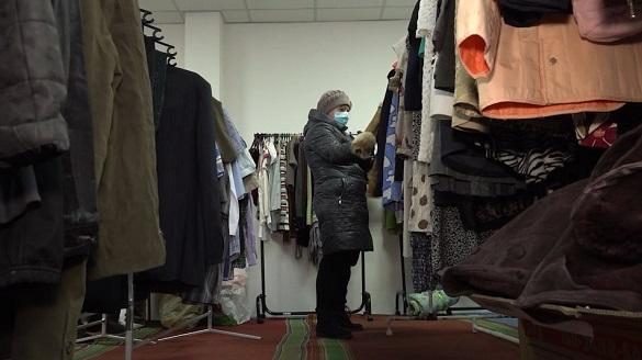 У Черкасах можна одягнутися без грошей: соціальний магазин працює у звичайному режимі