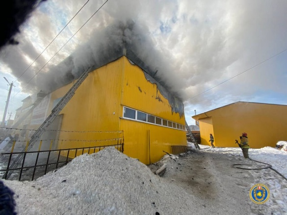 Горіло СТО, а не автомийка: стали відомі подробиці ранкової пожежі в Черкасах