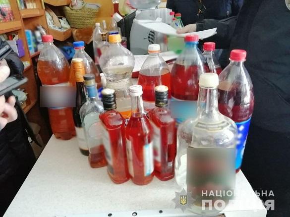 На Черкащині виявили павільйони, де незаконно продавали цигарки та алкоголь