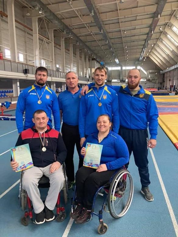 Черкаські паралімпійці отримали нагороди на чемпіонаті з легкоатлетичних метань (ФОТО)