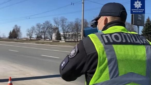 У Черкасах на деяких вулицях вимірюють швидкість руху автомобілів (ВІДЕО)