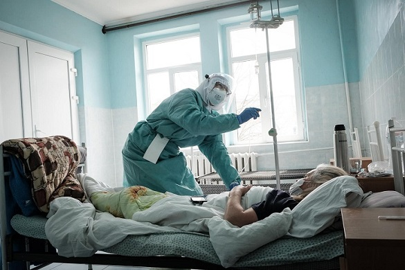 Мер Черкас розповів, яка завантаженість ліжок для хворих на COVID-19 у місті