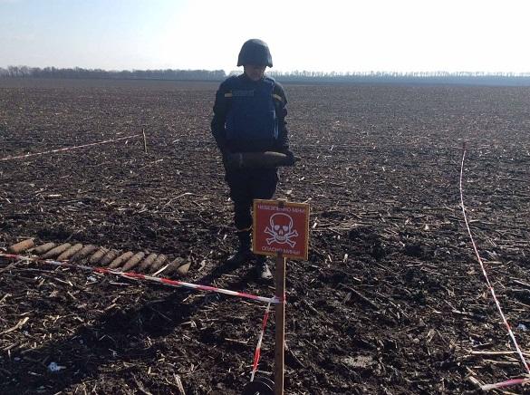 На Черкащині сапери знищили майже 20 боєприпасів