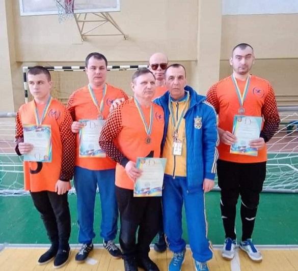 Черкаські спортсмени вибороли медалі на чемпіонаті України з голболу