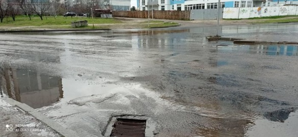 У районі Річкового вокзалу в Черкасах ліквідували потоп