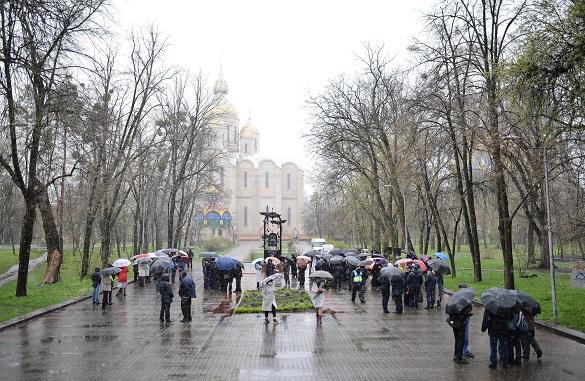 У Черкасах вшанували пам'ять ліквідаторів аварії на Чорнобильській АЕС (ФОТО)