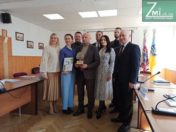 Мера Черкас нагородили за озеленення міста (ФОТО)