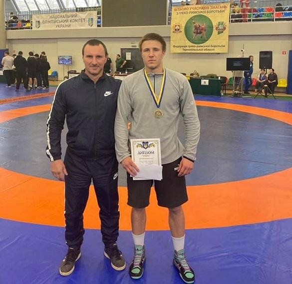 Черкащанин став чемпіоном України з греко-римської боротьби
