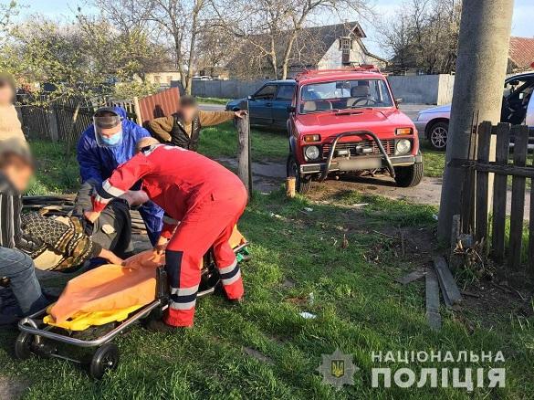 Один чоловік у лікарні, інший – травмований: на Черкащині п'яний водій спричинив ДТП (ФОТО)