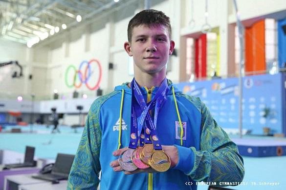 Виборов чотири золоті медалі та одну срібну: 17-річний гімнаст з Черкас розповів про свою перемогу на юніорському чемпіонаті