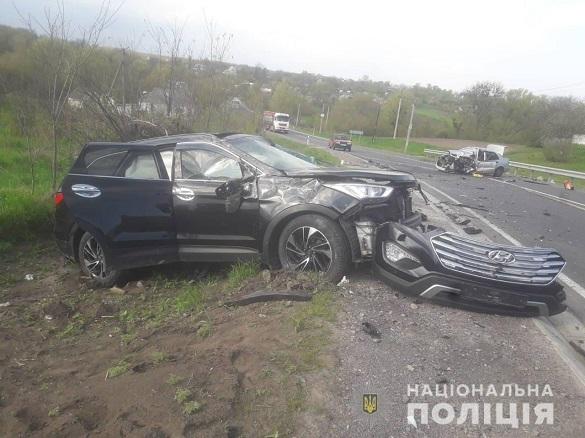 На Черкащині зіштовхнулися два автомобілі: загинув водій