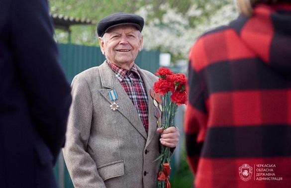 #ми_ще_є: на Черкащині привітали ветеранів Другої світової війни (ФОТО, ВІДЕО)