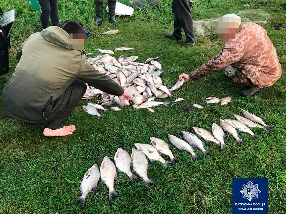 Збитки майже 40 тисяч гривень: на Черкащині затримали двох браконьєрів