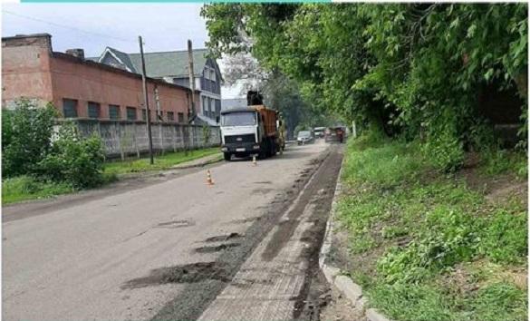 Ще одну вулицю почали ремонтувати в Черкасах