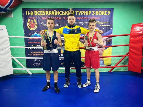 Спортсмени Черкащини вибороли медалі на чемпіонаті України з боксу
