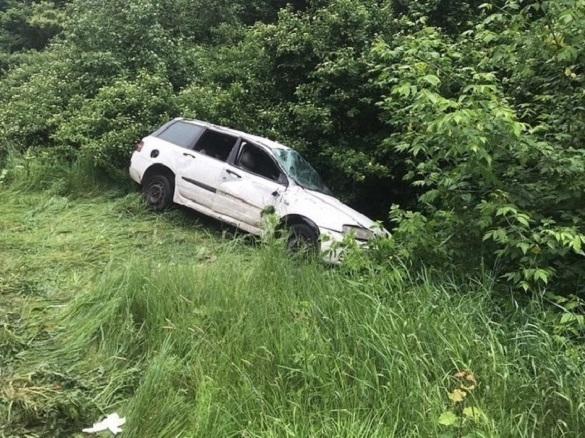 У Черкаській області автомобіль злетів у кювет: жінка та дитина постраждали, водій загинув