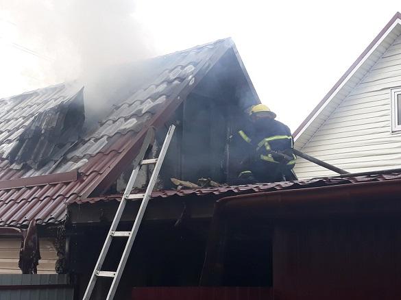 Через замикання електромережі на Черкащині сталася пожежа