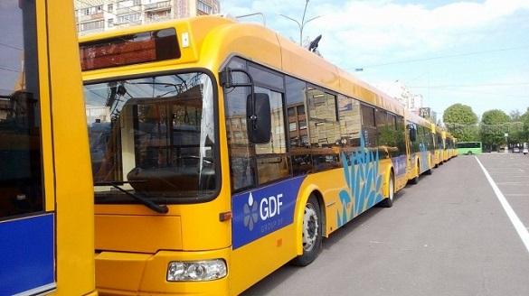 Завтра деякі тролейбуси в Черкасах змінять графік руху