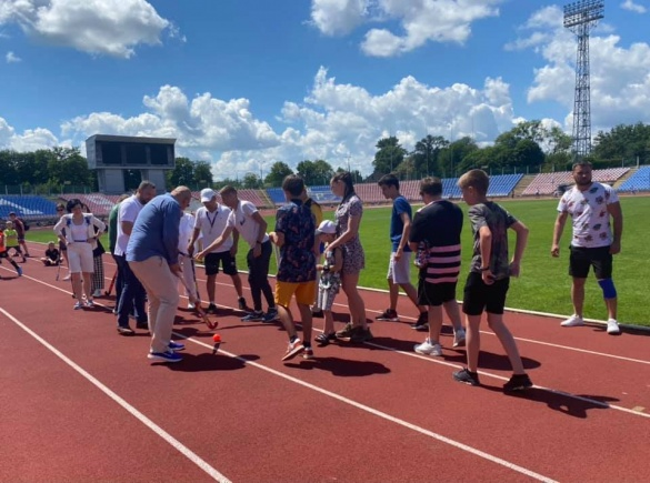 На черкаському стадіоні встановили рекорд України