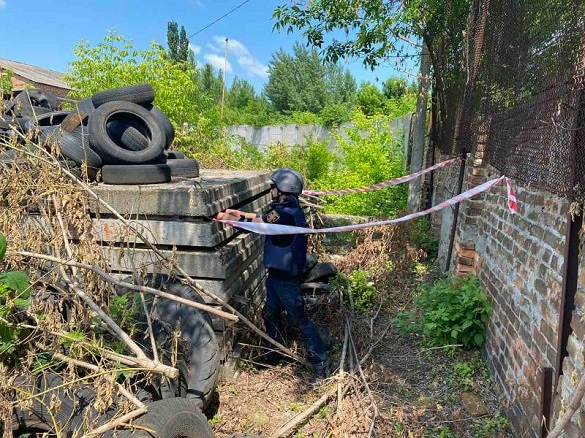 У Черкаській області сапери знищили вибухонебезпечний предмет (ФОТО)
