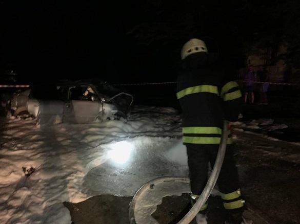Два автомобілі зіштовхнулися в Черкасах: постраждалого деблокували рятувальники