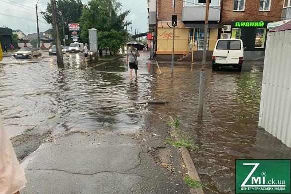 На Черкащині зафіксували майже декадну норму опадів