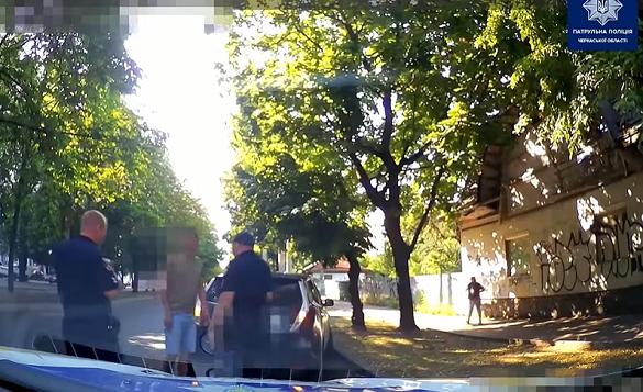 У Черкасах патрульні спіймали нетверезого водія