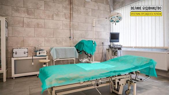 Сучасний ремонт та обладнання: в Уманській лікарні працює оновлене приймальне відділення