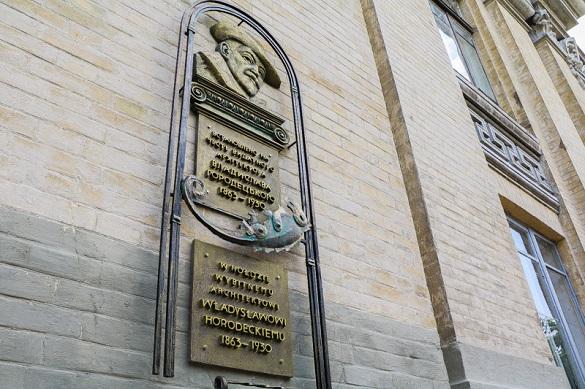 У Черкасах відкрили меморіальну дошку архітектору Блакитного палацу