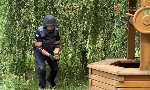 На водоканалі в Черкасах знайшли гранату