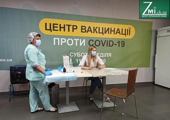 Ще п'ять нових Центрів вакцинації запрацюють на Черкащині
