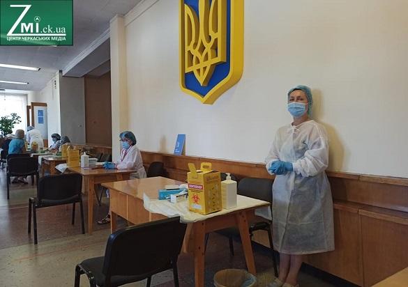 У Черкасах відкрили наймасовіший Центр вакцинації в області