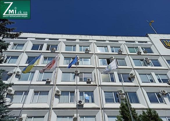 У Черкасах підняли Олімпійський прапор на підтримку спортсменів у Токіо (ФОТО, ВІДЕО)