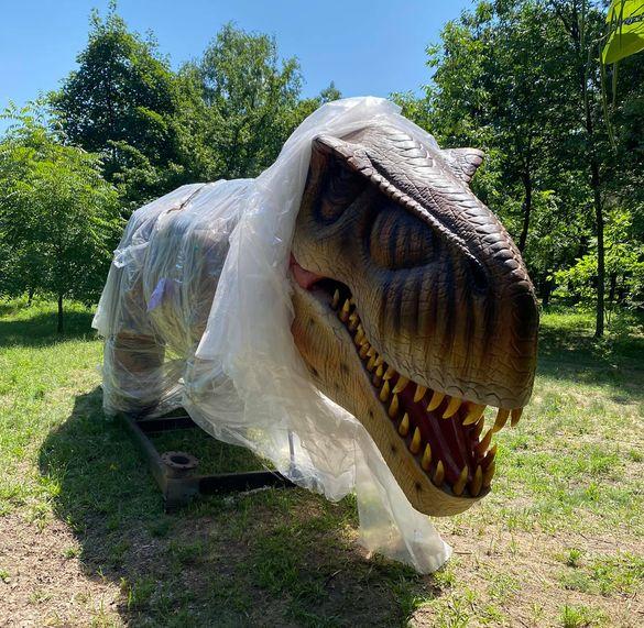 Парк динозаврів у Черкасах відкриють вже цієї суботи