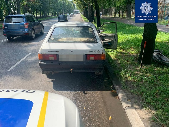 У Черкасах патрульні виявили водія з підробленими документами
