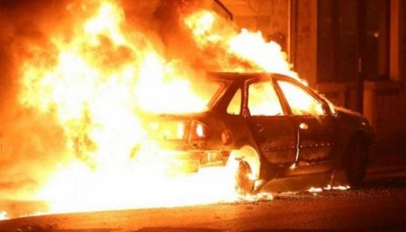 Підпал та самозаймання: на Черкащині виникло дві пожежі автомобілів